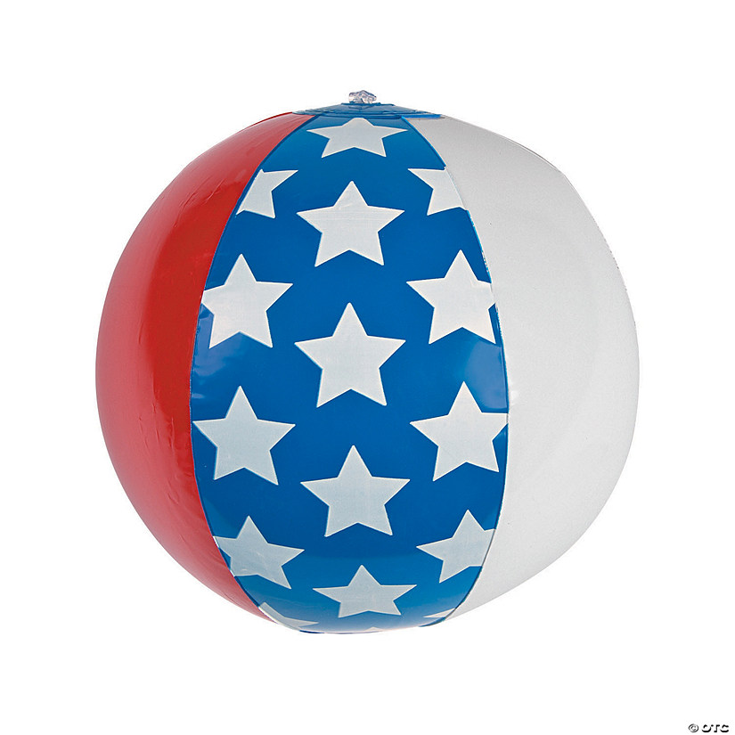"Inflatable 11"" American Flag Medium Beach Balls Audio Thumbnail"