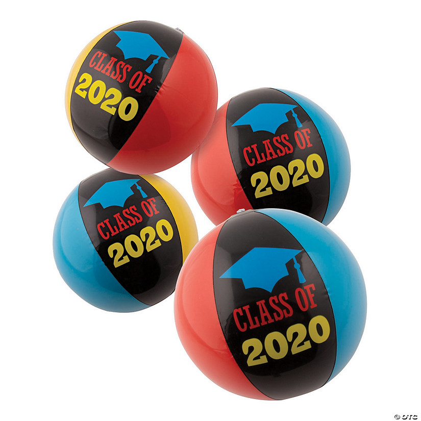 "Inflatable 11"" Class of 2020 Medium Beach Balls Audio Thumbnail"