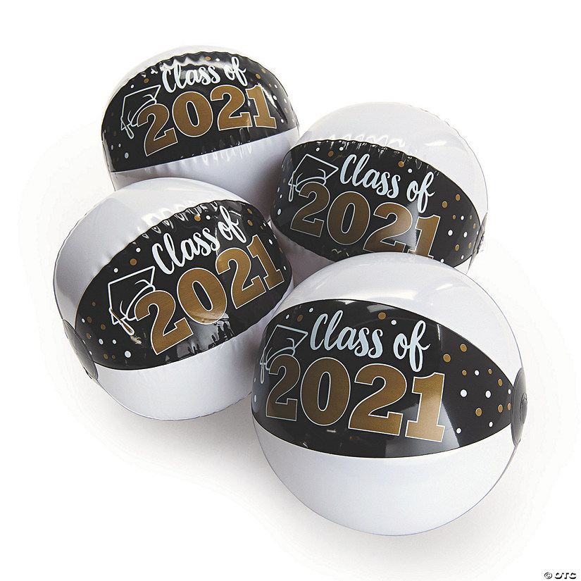 "Inflatable 11"" Class of 2021 Medium Beach Balls Image Thumbnail"