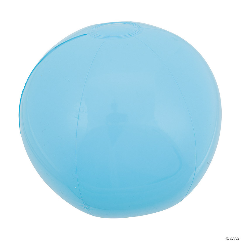 "Inflatable 11"" Light Blue Medium Beach Balls"