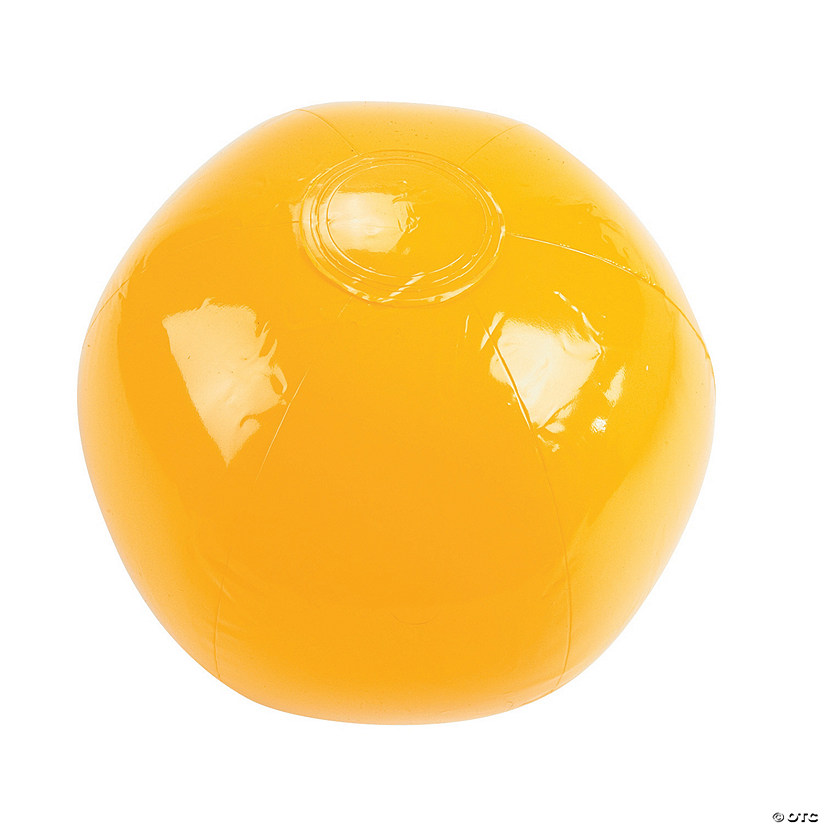 "Inflatable 11"" Yellow Medium Beach Balls Audio Thumbnail"