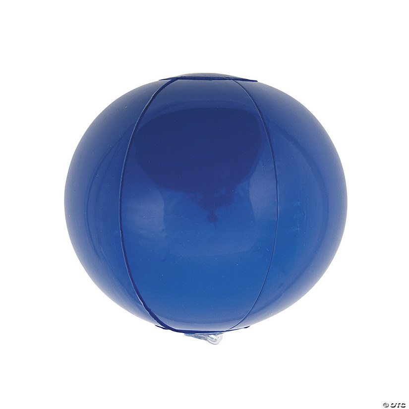 "Inflatable 5"" Blue Mini Beach Balls Audio Thumbnail"