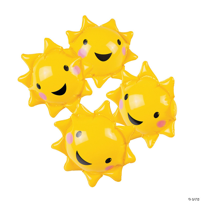 "Inflatable 5"" You Are My Sunshine Mini Beach Balls Image Thumbnail"