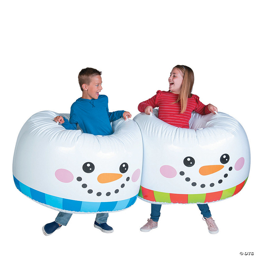Inflatable Adult Snowman Body Boppers Audio Thumbnail