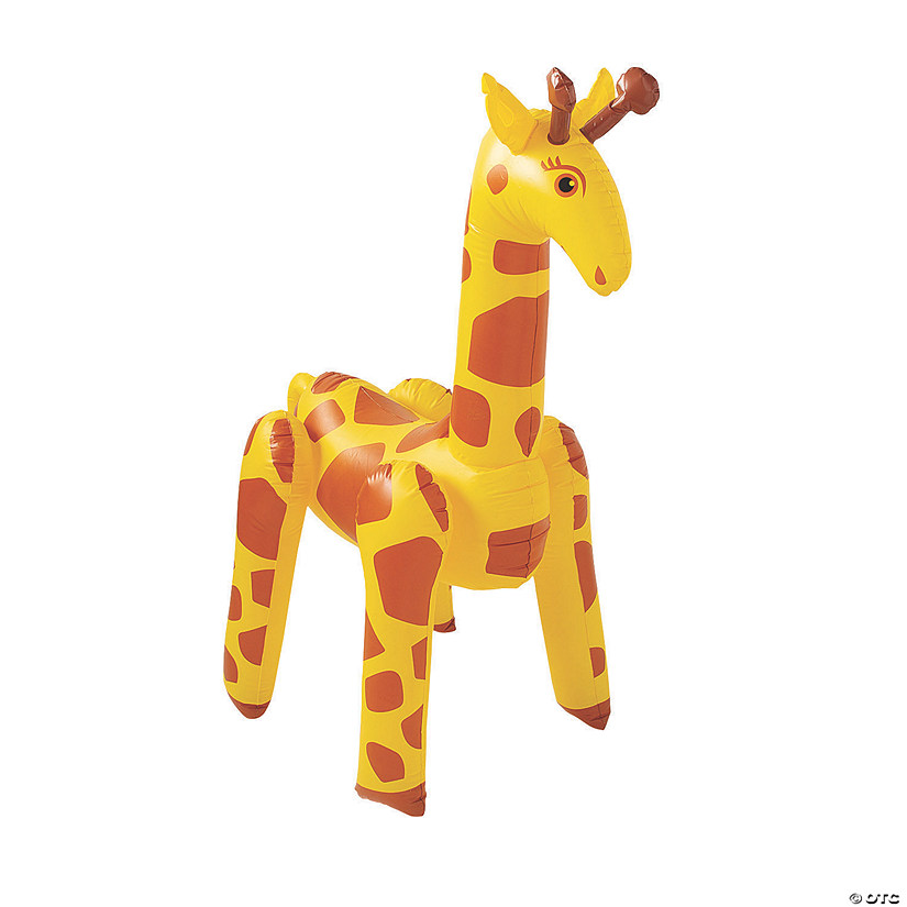 Inflatable African Safari VBS Giraffe
