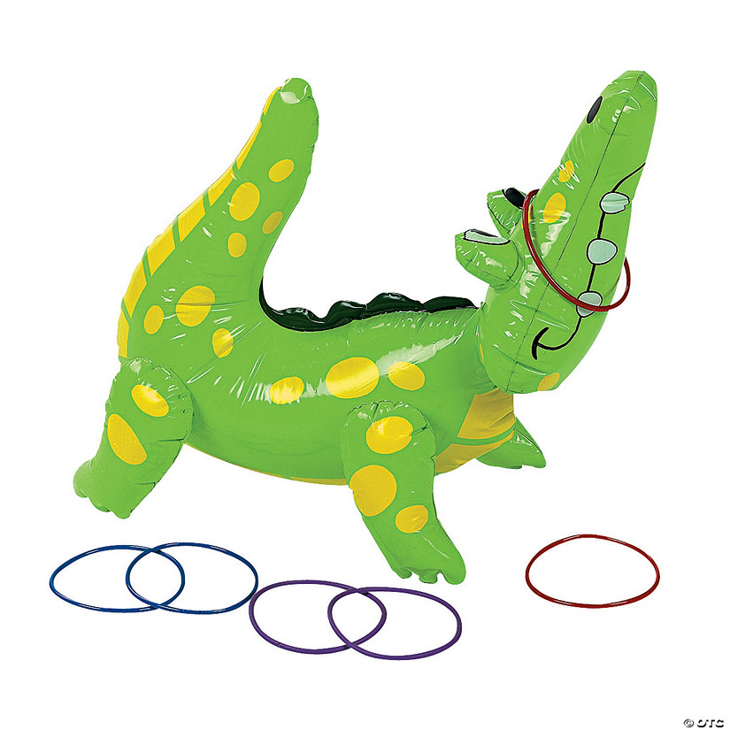 Inflatable Alligator Ring Toss Game Audio Thumbnail