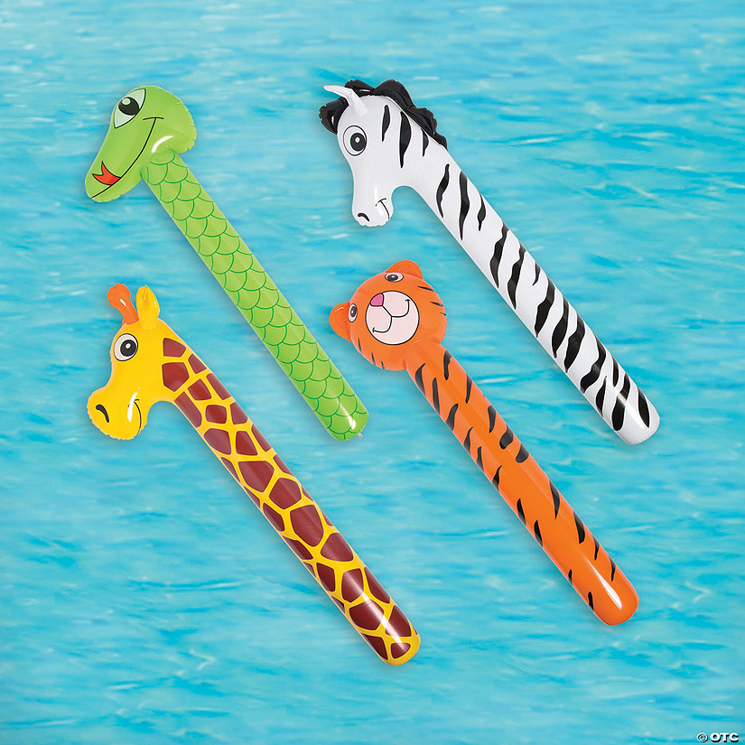 Inflatable Animal Pool Noodles