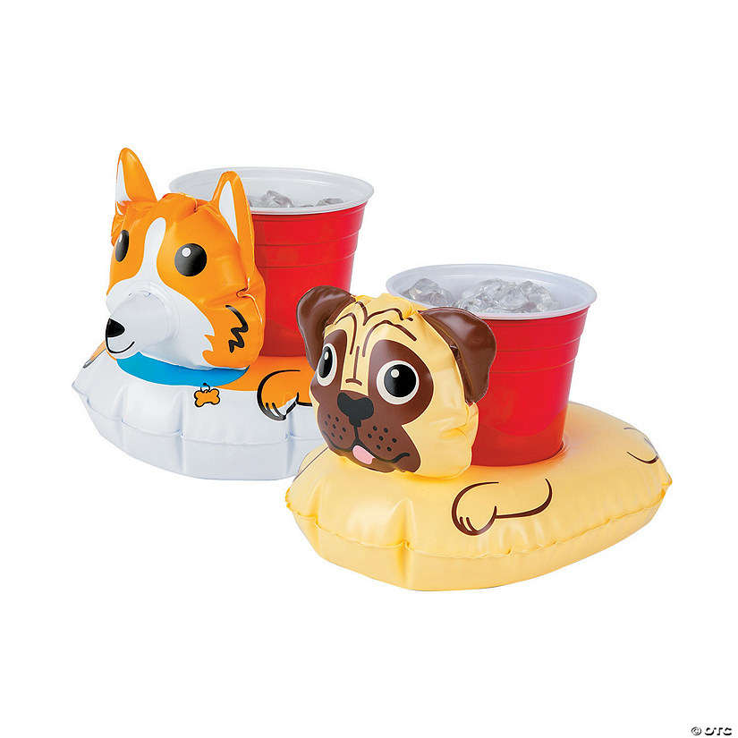 Inflatable BigMouth<sup>&#174;</sup> Dog Beverage Boats Image Thumbnail
