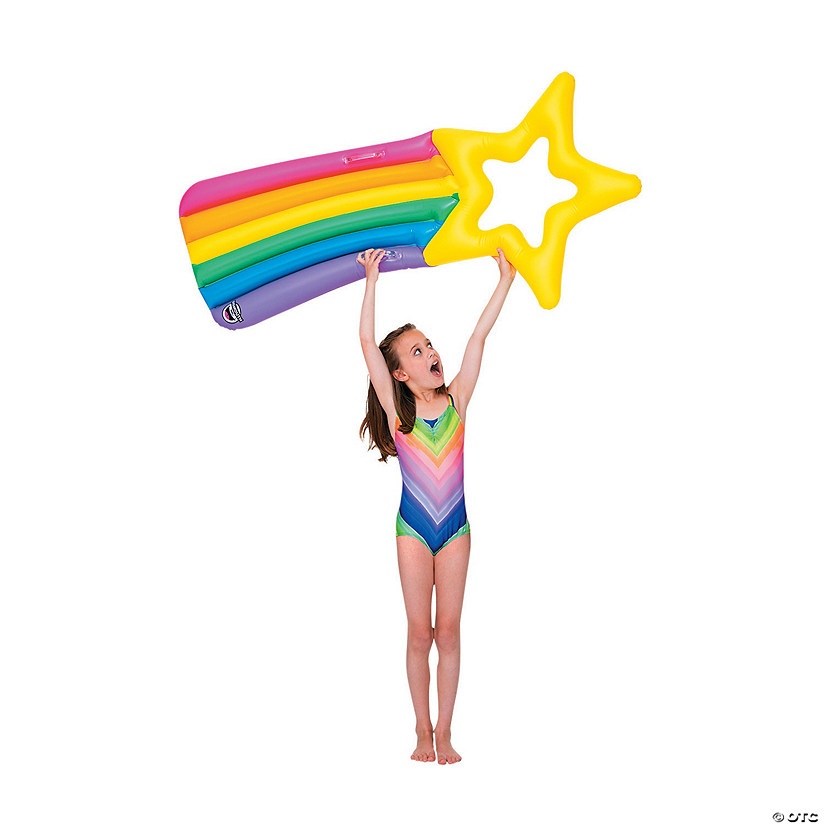 Inflatable BigMouth<sup>&#174;</sup> Shooting Star Kiddo Pool Float Image Thumbnail