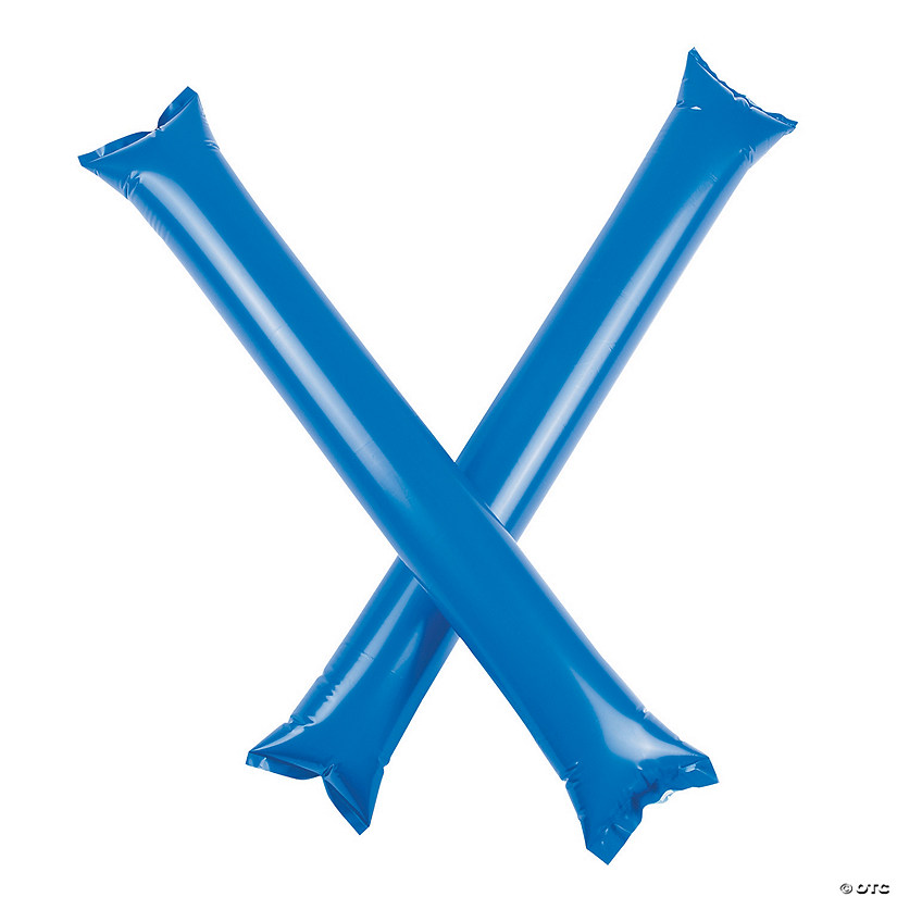 Inflatable Blue Boom Sticks