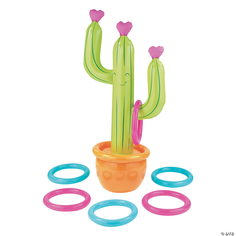 Inflatable Cactus Ring Toss Game Audio Thumbnail