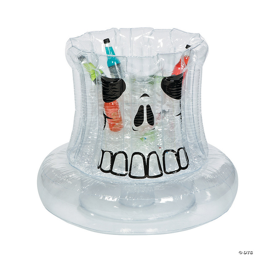 Inflatable Clear Skull Cooler