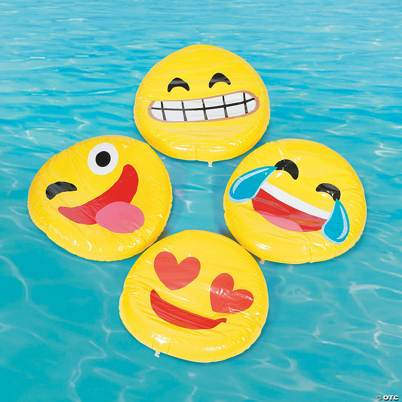 Inflatable Emoji Pool Floats Image Thumbnail
