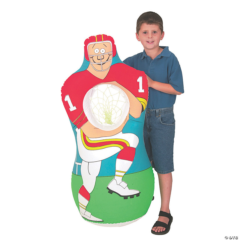 Inflatable Football Player Toss Game