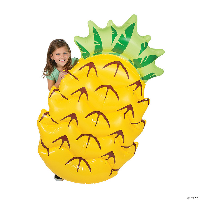 Inflatable Giant Pineapple Pool Float Image Thumbnail