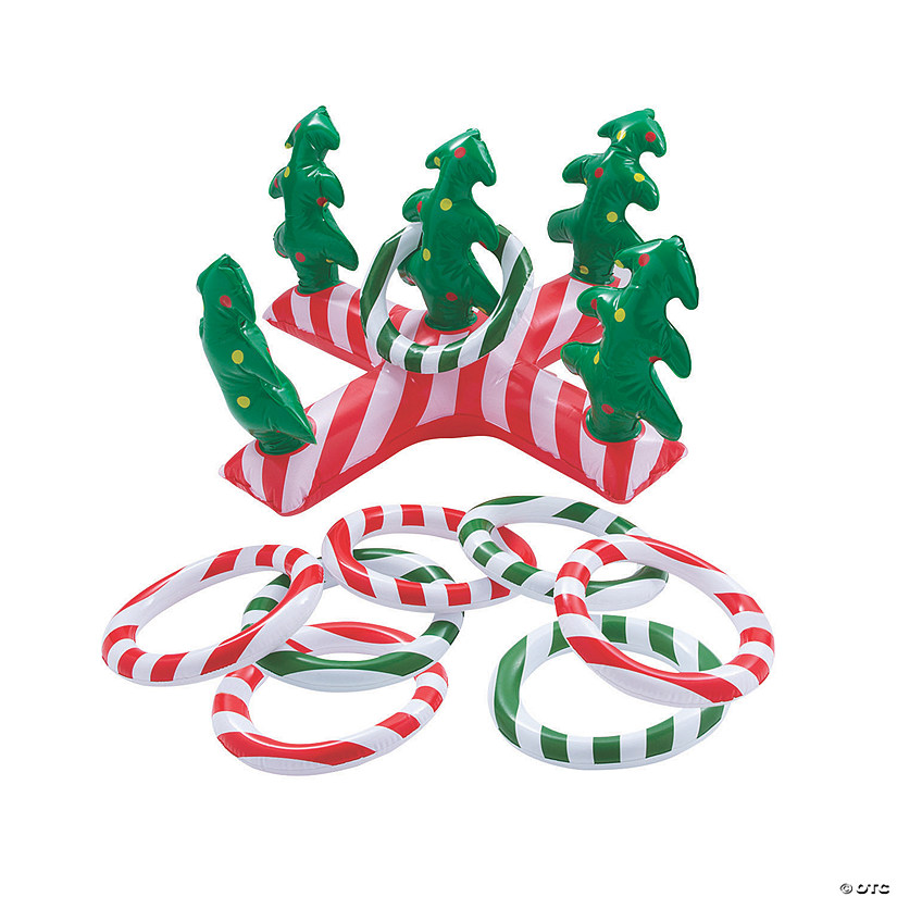 Inflatable Holiday Ring Toss Game Image Thumbnail