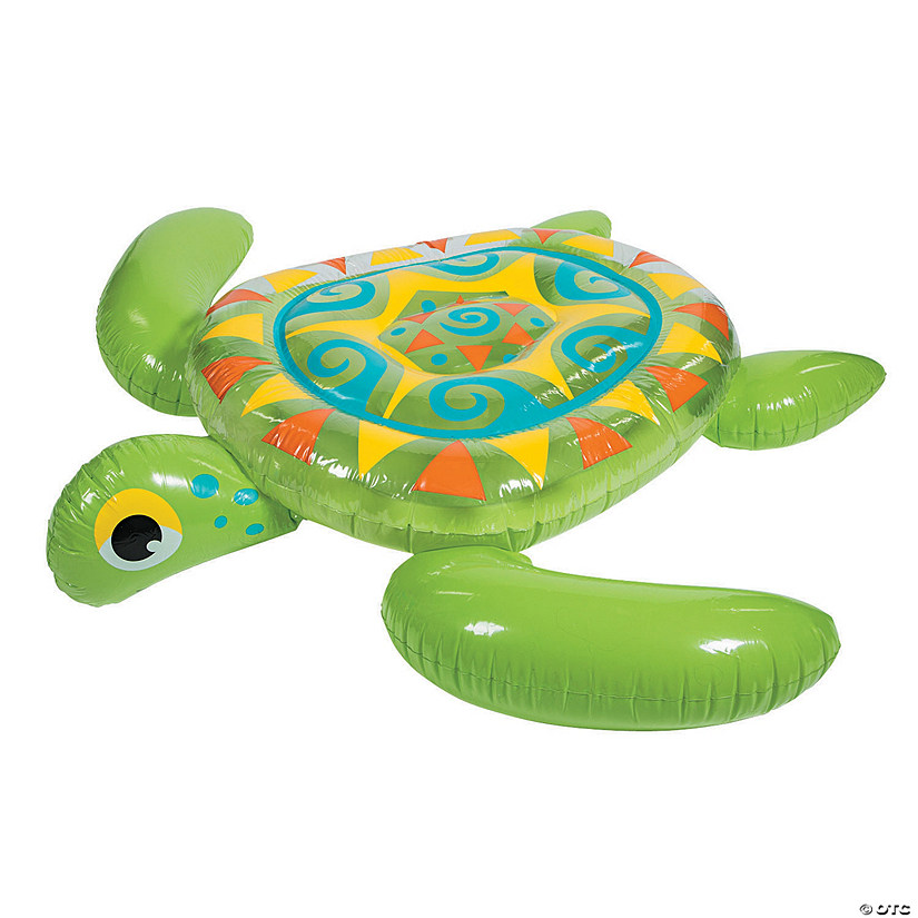 Inflatable Jumbo Sea Turtle Float Audio Thumbnail