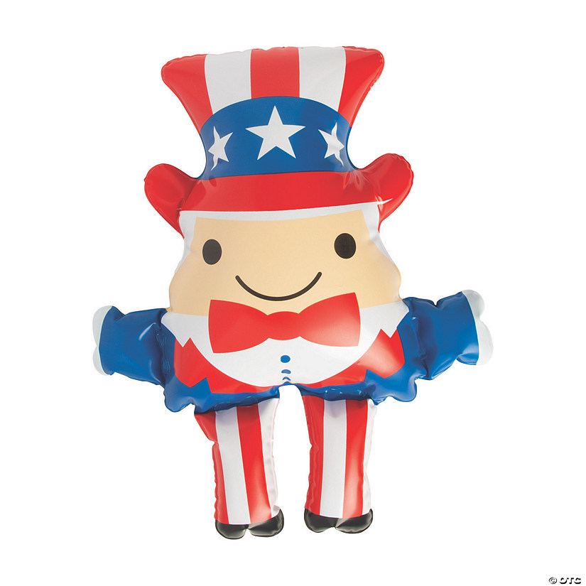 Inflatable Patriotic Uncle Sam Image Thumbnail