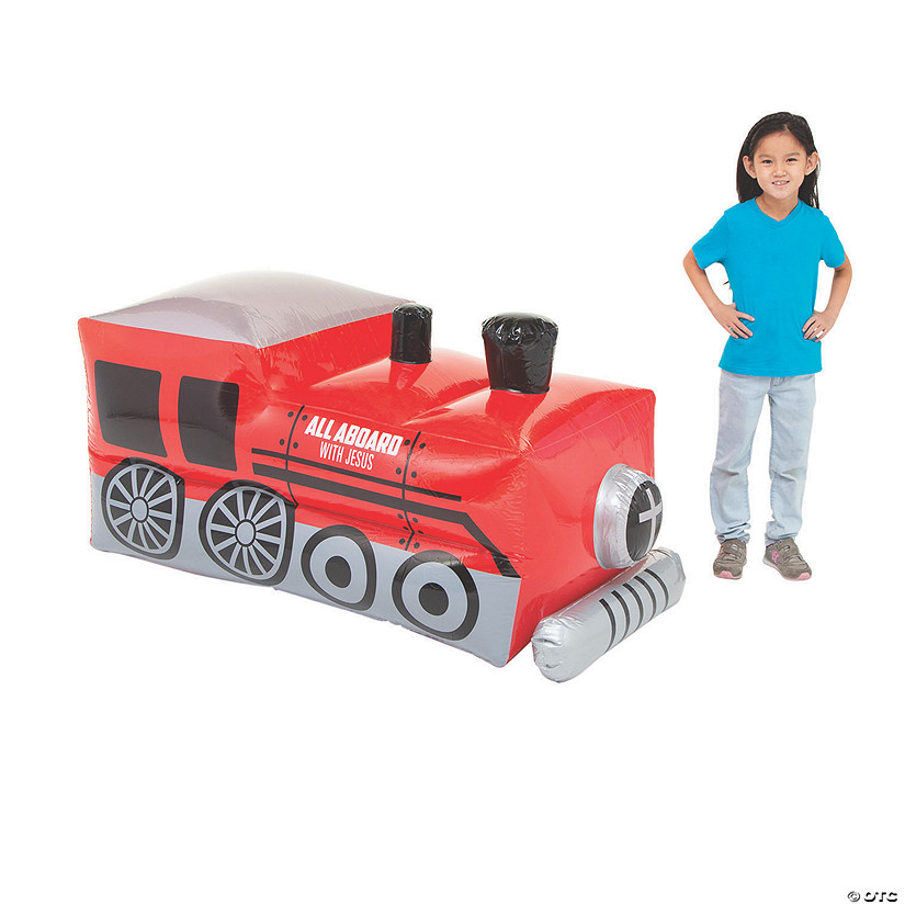Inflatable Railroad VBS Train Image Thumbnail