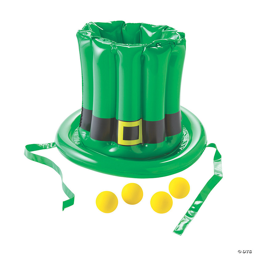 Inflatable St. Patrick's Day Hat Toss Game Image Thumbnail