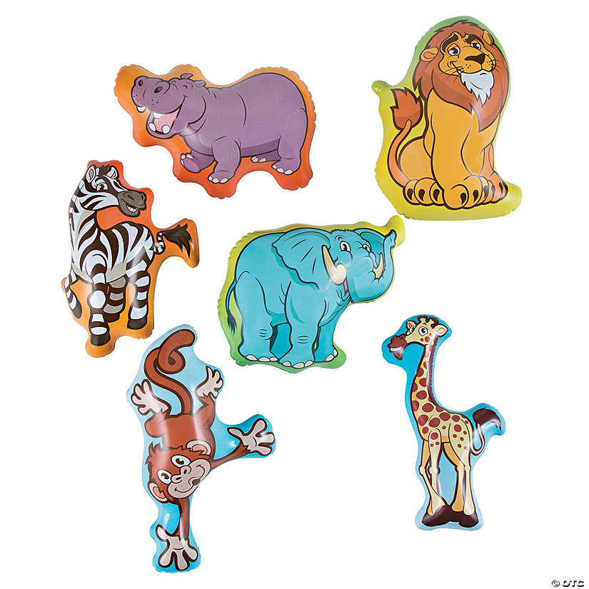 Inflatable Zoo Animal Character Assortment