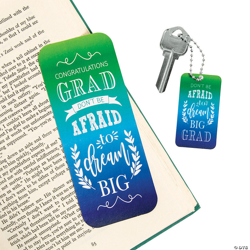Inspirational Grad Bookmarks & Keychains Audio Thumbnail