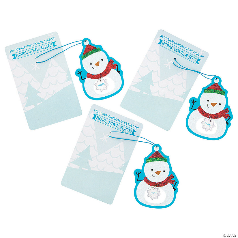 Inspirational Snowman Ornaments on Card Audio Thumbnail