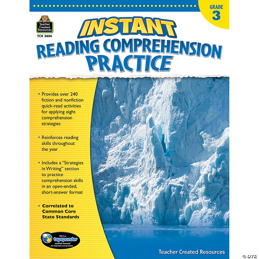 Instant Reading Comprehension Practice: Grade 3 Audio Thumbnail