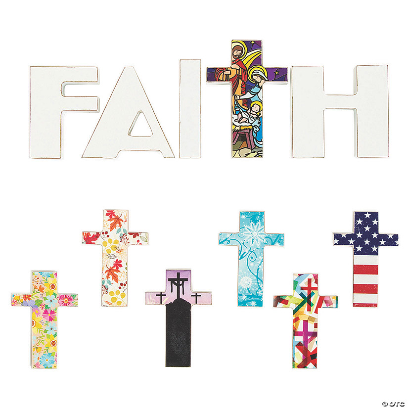Interchangeable Faith Tabletop Decoration Set Image Thumbnail