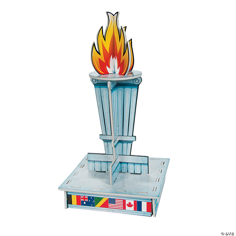International Games Torch Centerpiece