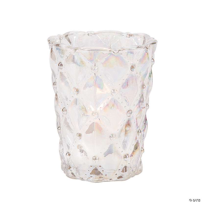 Iridescent Decorative Votive Holders