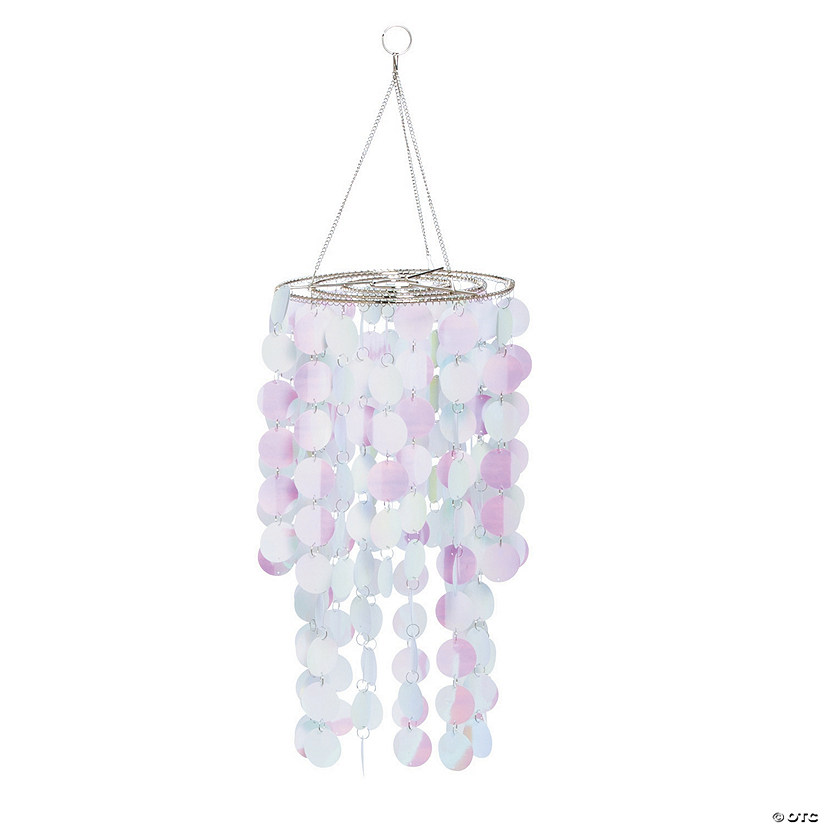 Iridescent Reflective Hanging Chandelier Audio Thumbnail