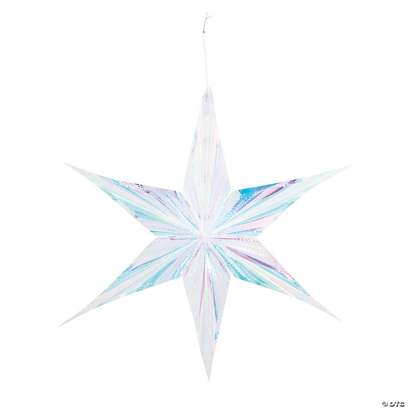 Iridescent Star Hanging Decorations Audio Thumbnail