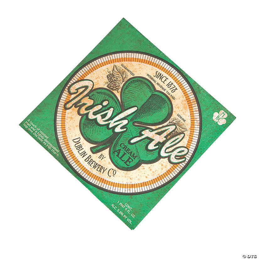 Irish Pub Luncheon Napkins Audio Thumbnail