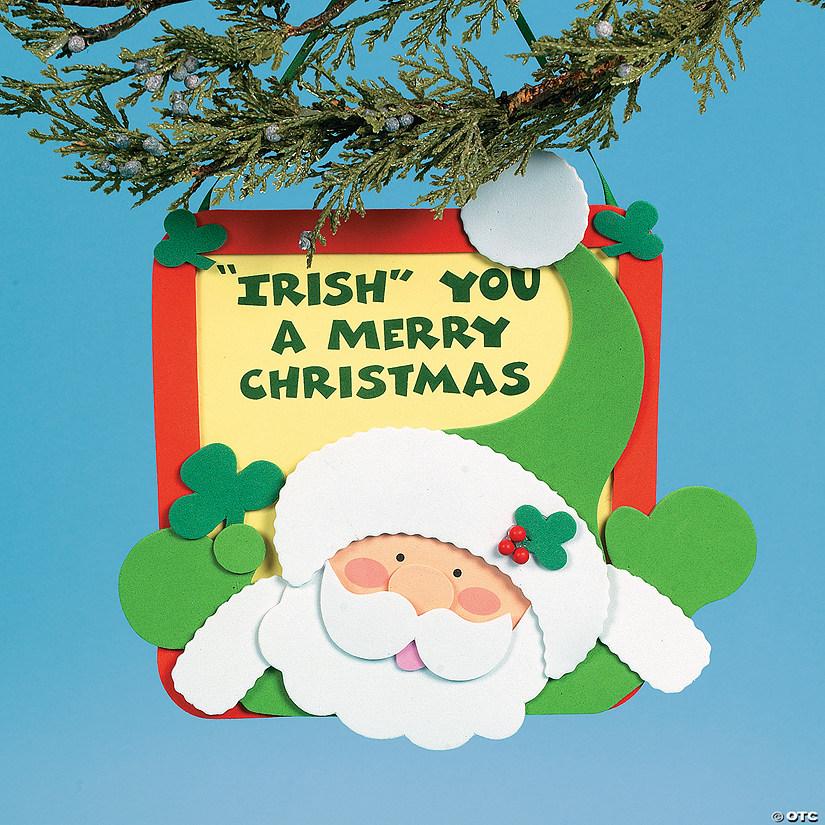 Merry Christmas In Irish.Irish You A Merry Christmas Craft Kit Discontinued