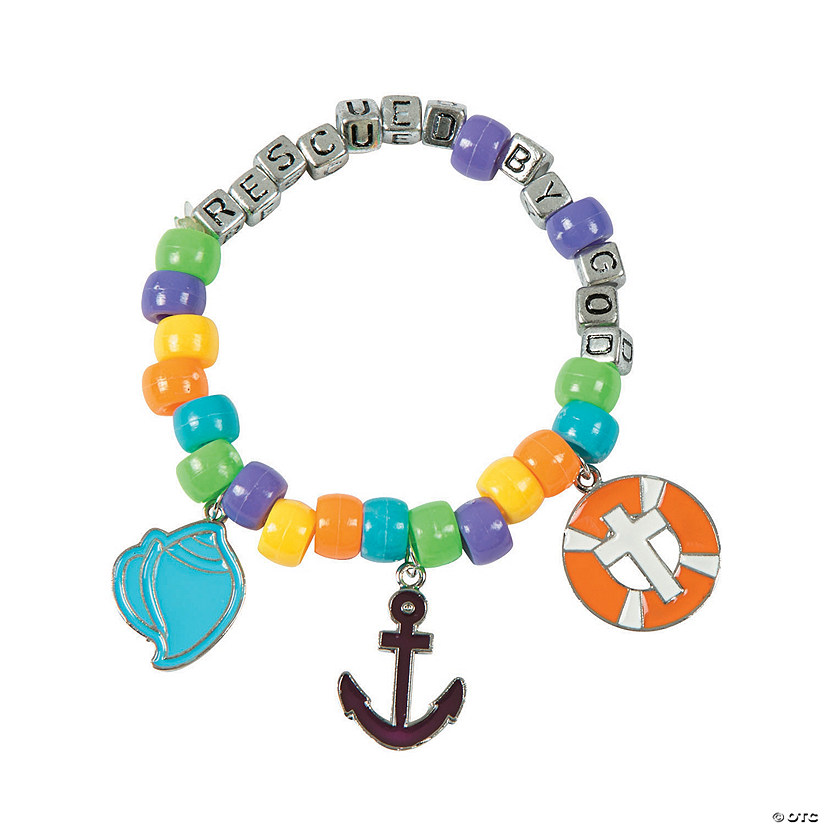 Island VBS Beaded Bracelet Craft Kit