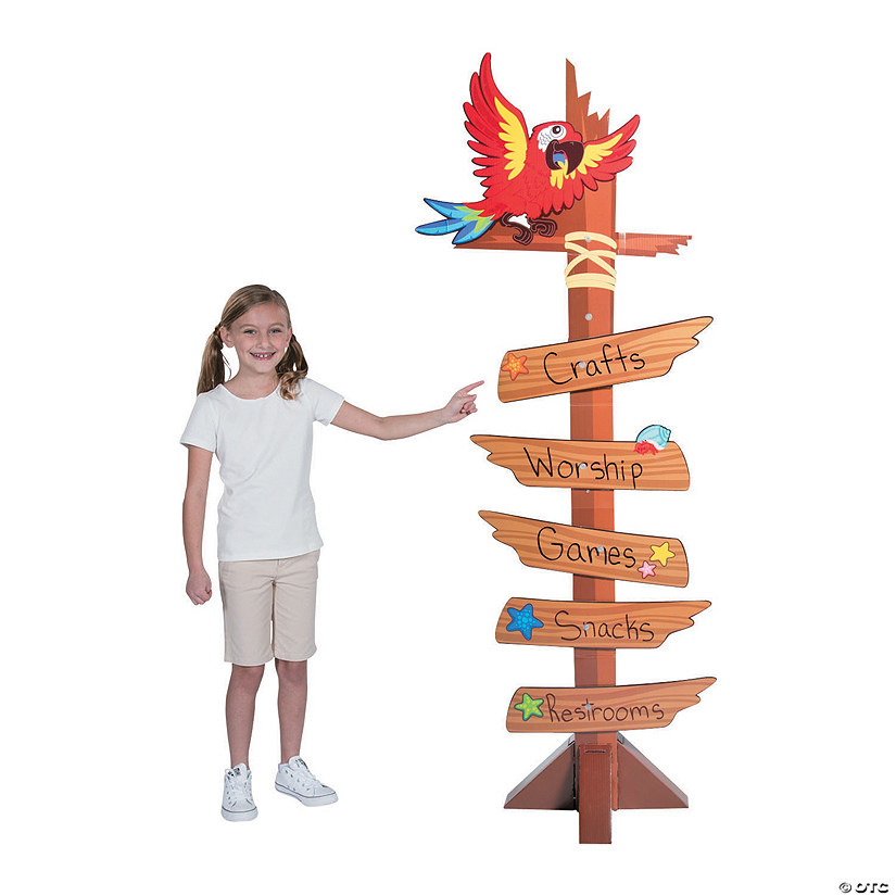 Island VBS Directional Sign