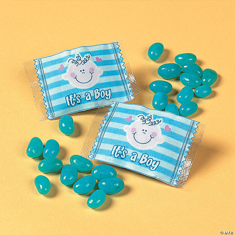 Its A Boy Jelly Bean Candy Treat Packs Discontinued