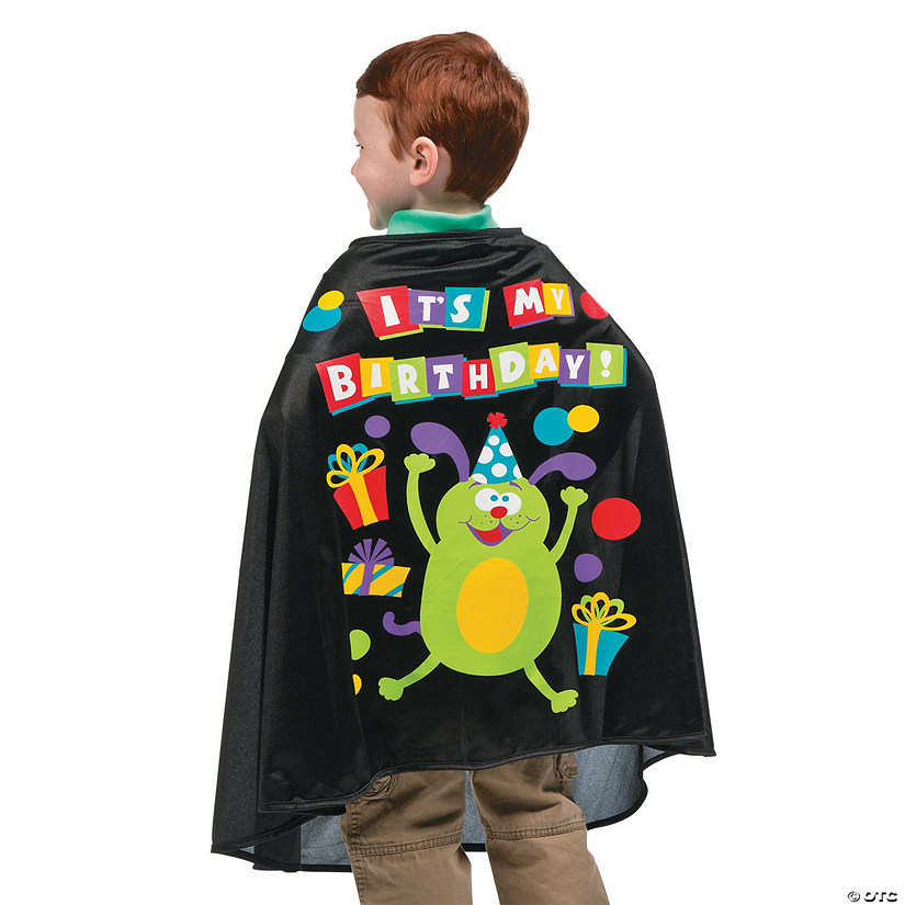 It's My Birthday Cape