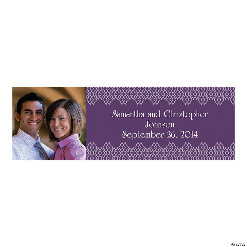 Italian Plum & Champagne Custom Photo Banners