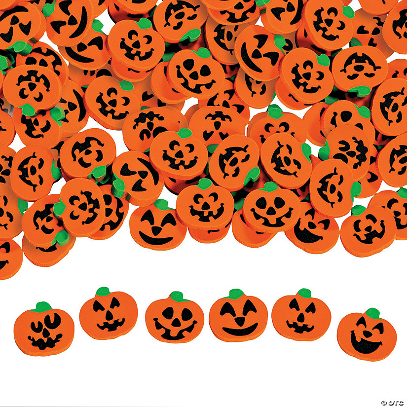 Jack-O'-Lantern Mini Eraser Assortment Audio Thumbnail