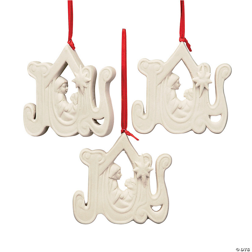 jade porcelain joy nativity christmas ornaments