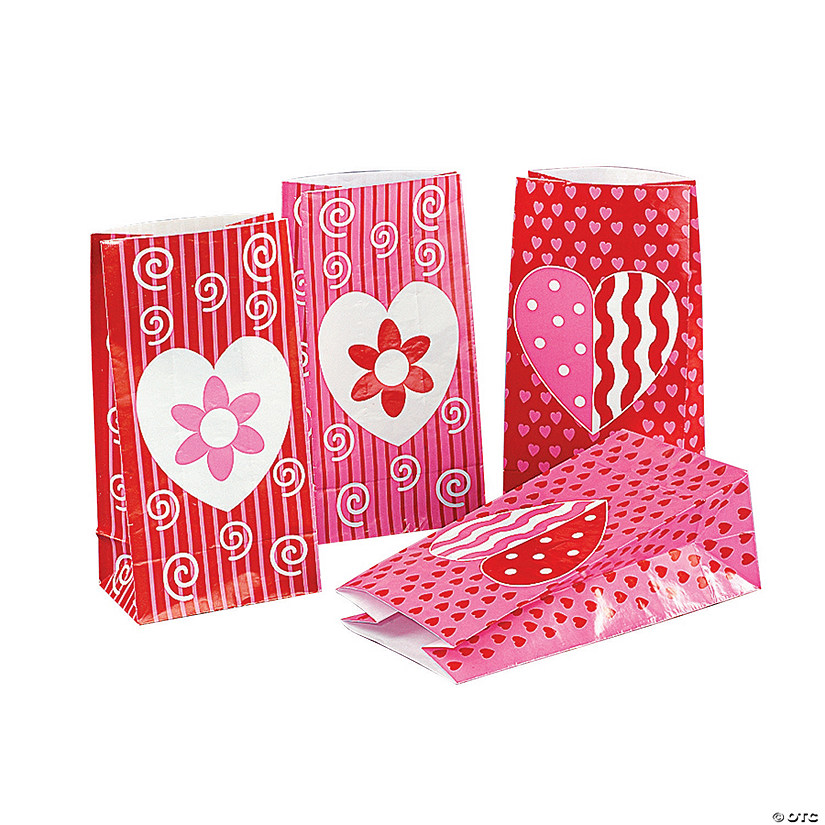 Jazzy Valentine Gift Bags Image Thumbnail