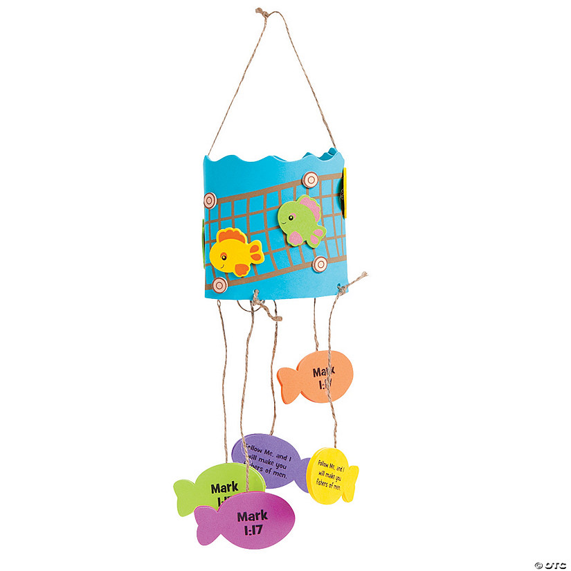 Jesus Fish Mobile Craft Kit