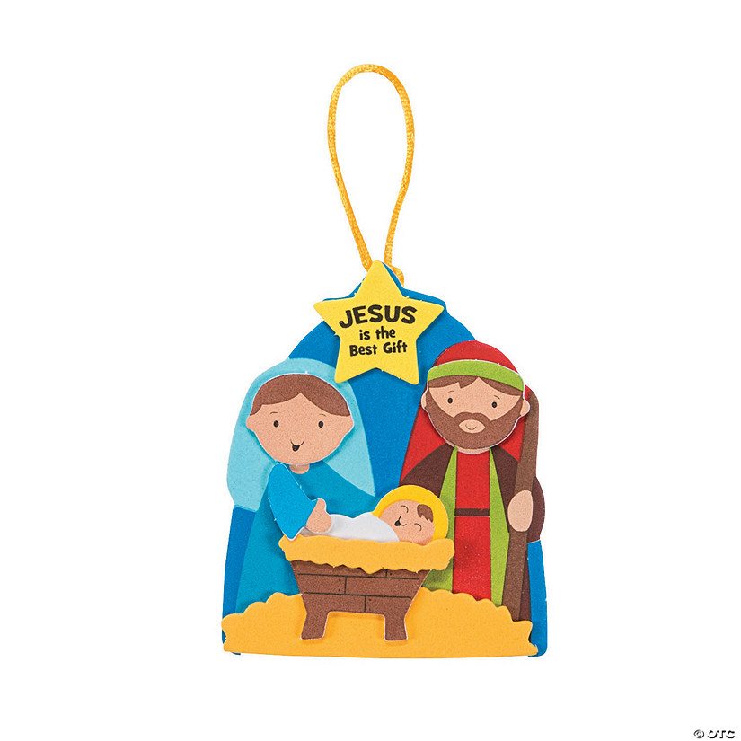 Jesus Gift Christmas Ornament Craft Kit - Makes 48 Audio Thumbnail