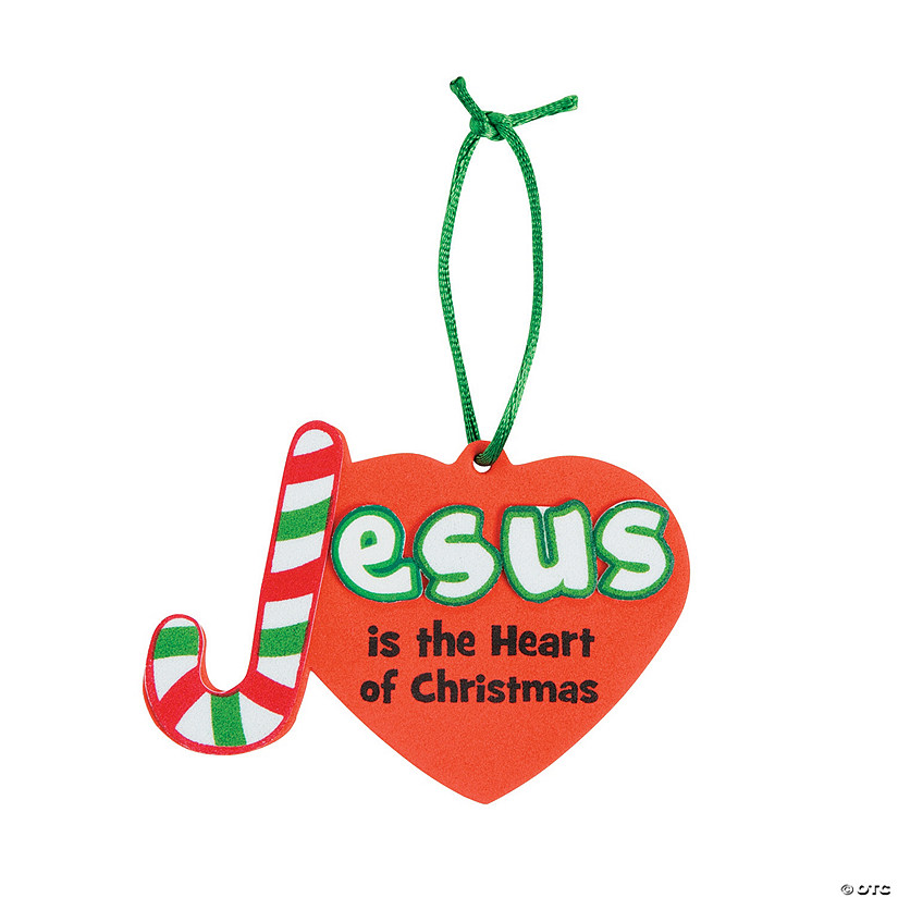 Jesus is the Heart of Christmas Ornament Craft Kit Audio Thumbnail