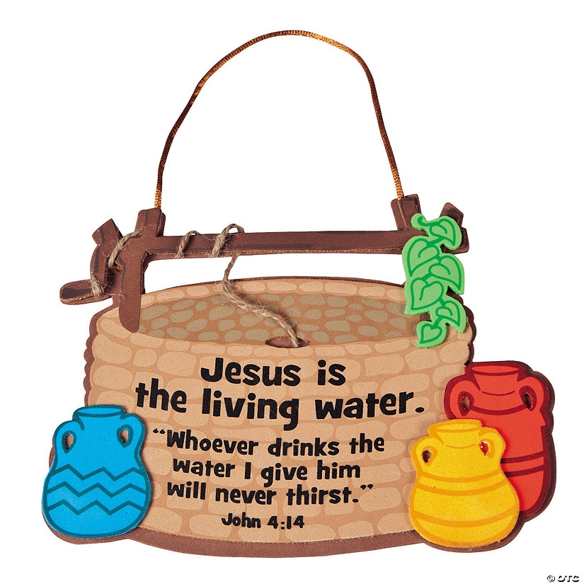 Jesus Is the Living Water Sign Craft Kit Audio Thumbnail