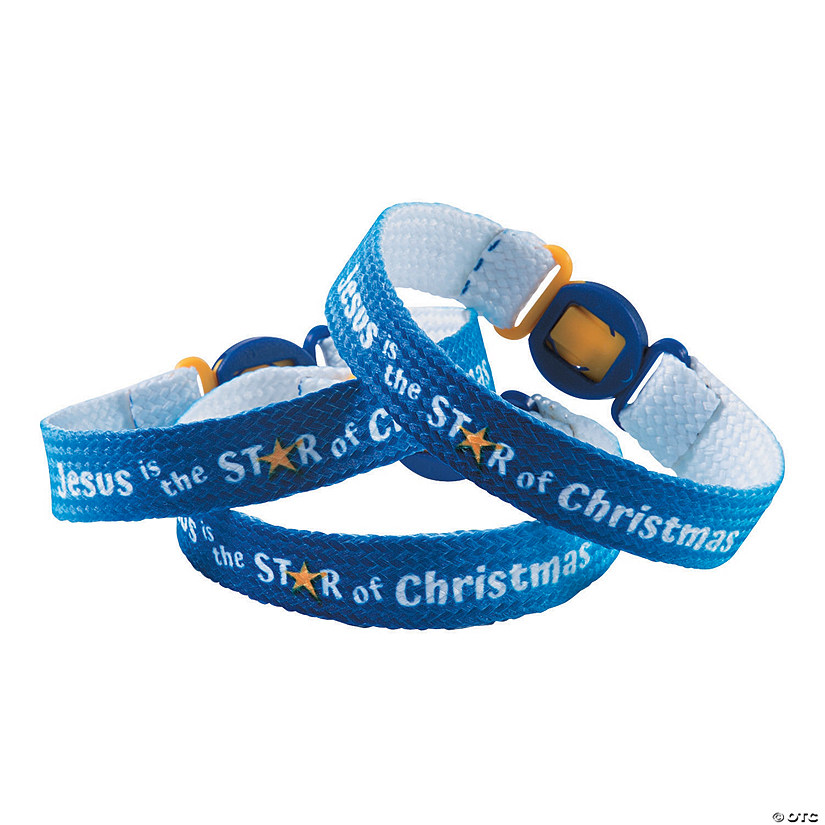 Jesus Is the Star of Christmas Bracelets