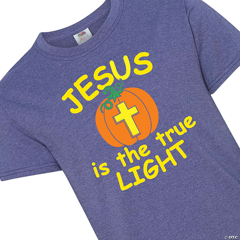 Jesus Is the True Light Youth T-Shirt Image Thumbnail