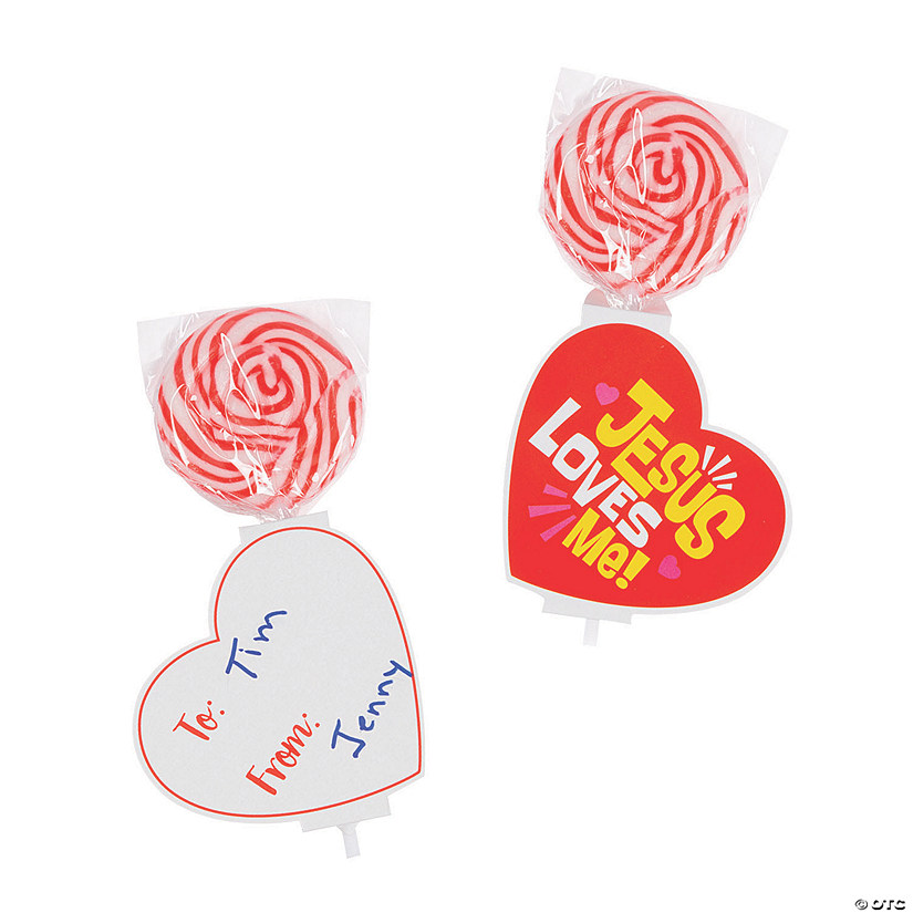 Jesus Loves Me Lollipops with Valentine's Day Cards Audio Thumbnail